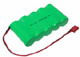 Click for the details of 1800mah/6V Ni-Mh Receiver Battery Pack W/Futaba Connector(Flat).