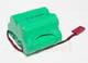 Click for the details of Ni-Mh 1800mah/6.0V AA RX Battery Pack W/Futaba Connector(Trapezia).