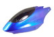 Click for the details of Plastic Canopy for 450 Helicopter (Blue).