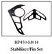Click for the details of Stabilizer/Fin Set for Black Hawk HP-450 Helicopter HP450-M014.