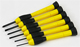 Click for the details of 6 pcs STANLEY Precision Screw driver Set.