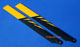 Click for the details of 325mm Fiberglass Main Blades for 450 Class Electric Helicopters (Black/Yellow).