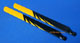Click for the details of 430mm Fiberglass Main Blades for 500 Class Electric Helicopters (Black/Yellow).