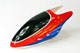 Click for the details of Painted Fiberglass Canopy for 450 Series Electric Helicopter (Red&Blue).