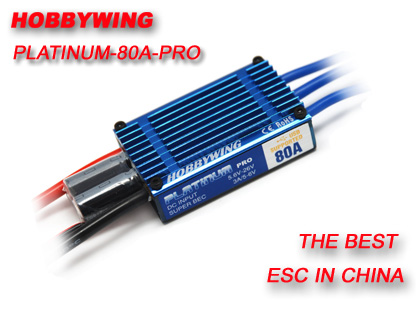 HOBBYWING 80A / 120A 2-6S Electric Brushless Speed ...
