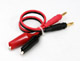 Click for the details of Banana / Alligator clip cable.