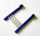 Click for the details of Universal Aluminum H-Shape Support for Transmitters - Blue.