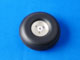 Click for the details of D62xΦ4.0xH23.0mm (2.5 in) Aluminum Rim Rubber PU Wheel HY006-03203.