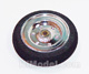 Click for the details of D30×Φ2×H9mm Electroplate Super Light Wheel (Plastic rim,Foam Tyre) HY006-03101.
