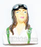 Click for the details of L75xW66xH36mm Airplane 1/6 Scale Female Pilot HY031-00801.