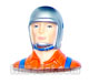 Click for the details of L45×W25×H40mm Airplane 1/10 Scale Pilot HY031-00903.