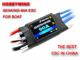 Click for the details of Seaking-90A Water-cooling Brushless ESC for Boat V2.