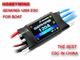 Click for the details of Seaking-120A Water-cooling Brushless ESC for Boat V2.