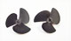 Click for the details of 40x55 3-blade Boat Propeller (2pcs).