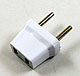 Click for the details of AC Wall Plug Adaptor - 2 Round Pins/2-square holes.