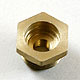 Click for the details of 14mm to 1/4-32mm spark plug bushing adapters(Copper).