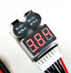 Click for the details of HiModel LED 1-8S LiPO Battery Voltage Tester/ Low Voltage Buzzer Alarm (1S support 3.7-30V).