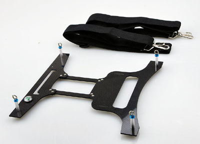 Carbon Fiber Transmitter Tray for Futaba FF9