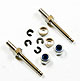 Click for the details of D3 x M2 x L27 mm Wheel Shaft for Electric Airplane (2pcs).
