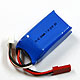Click for the details of HI-EC 350mAh / 7.4V 25C LiPoly Battery Pack W/ JST-connector.