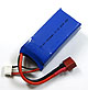 Click for the details of HI-EC 1200mAh / 11.1V 25C LiPoly Battery Pack W/ T-connector.