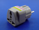Click for the details of AC Wall Plug Adaptor - 2-round Pins w/empty ground Germany/France Standard.
