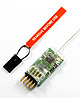 Click for the details of 2.4G 3-Channel MICROLITE DSM2 /DSMX Receiver S3100E (JR/SPEKTRUM Compatible).