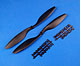 Click for the details of 10 x 45 Propeller Set (one clockwise rotating, one counter-clockwise rotating) - Black.
