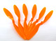 Click for the details of GWS 8x6 Counter Rotating Propeller GWEP8060RH - Orange  (6pcs).