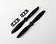 Click for the details of 4 x 4.5 Propeller Set (one CW, one CCW) Black.