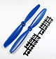 Click for the details of 11 x 45 Propeller Set (one CW, one CCW) - Blue.