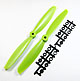 Click for the details of 7 x 4.5 Propeller Set (one CW, one CCW) - Green.