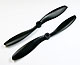 Click for the details of FC 9x4.7 PRO Propeller Set (one CW, one CCW) - Black.