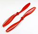 Click for the details of FC 9x4.7 PRO Propeller Set (one CW, one CCW) - Red.