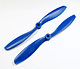 Click for the details of FC 8x4.5 PRO Propeller Set (one CW, one CCW) - Blue.