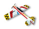 Click for the details of RED EAGLE HUMMER EPP 1000mm  Electric  Airplane Kit.