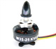 Click for the details of HL W35-25 850KV Outrunner Brushless Motor  for 450 class Multi-copter (3S).