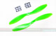 Click for the details of GF 9x4.7 Nylon Propeller Set (one CW, one CCW) - Green.
