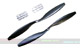 Click for the details of GF 12x4.5 Nylon Propeller Set (one CW, one CCW) - Black.