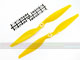 Click for the details of 11 x 5.5 Hyper Drive Propeller Set (one CW, one CCW) - Yellow.