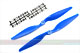 Click for the details of 11 x 5.5 Hyper Drive Propeller Set (one CW, one CCW) - Blue.