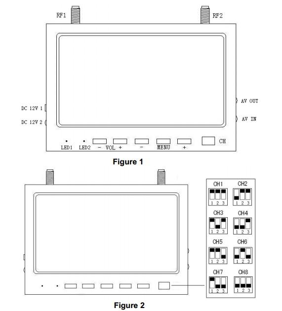 FPV 5.8GHz 32-Ch Diversity Receiver 7