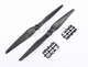 Click for the details of GF 11x5 High Rigidity Nylon Mix Carbon High Speed Propeller Set (one CW, one CCW).