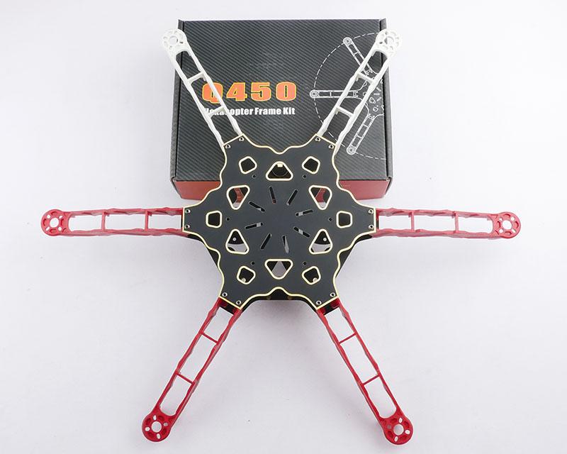 Totem Q450 Mini 6 Axis Hexacopter Frame Kit Happymodel