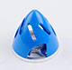 Click for the details of Φ51mm Aluminum + ABS  Hollow-carved Spinner for 2-blade Prop - Blue.