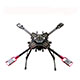 Click for the details of HMF U580Pro Umbrella Folding Quadcopter Frame Kit w/ Retractable Landing gear.