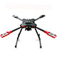 Click for the details of HMF U580Pro Umbrella Folding Quadcopter Frame Kit High Landing Gear w/ Gimbal Hanging Rail.