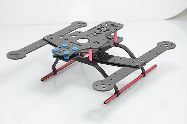 Fcm 250 Mini Quadcopter Frame Kit Carbon Fiber