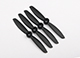 "Click for the details of GEMFAN 4045 / 4 x 4.5"" Fiberglass Nylon CR/ Counter Rotating Propellers - Black  (4pcs) ."