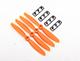 "Click for the details of GEMFAN 4045 / 4 x 4.5"" Fiberglass Nylon Propellers - Orange  (4pcs) ."
